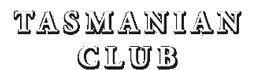 Tasmania Club – Est 1861 Logo
